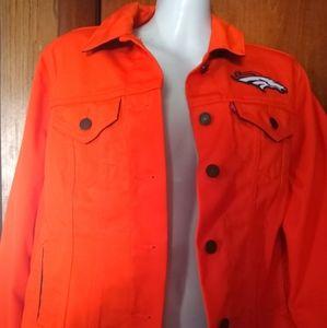 Levi's NFL Bronco Denver denim jacket